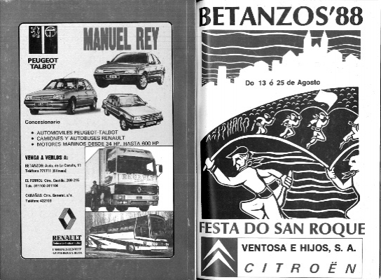 Grupo Manuel Rey hemeroteca Betanzos